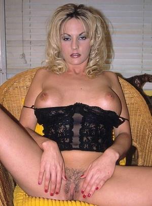 Hairy porn. Pretty blonde porn babe with - XXX Dessert - Picture 16