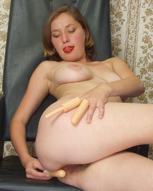 Hairy ladies. Busty babe totally naked a - Picture 5