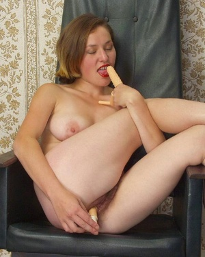Hairy ladies. Busty babe totally naked a - Picture 6