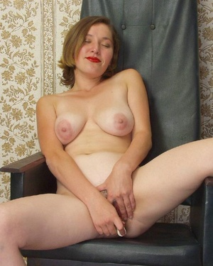 Hairy ladies. Busty babe totally naked a - Picture 11