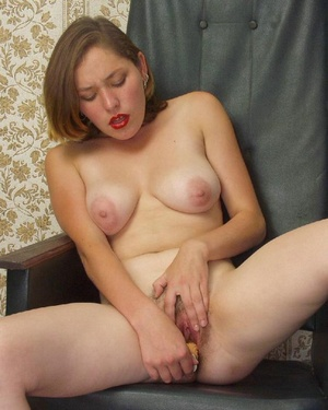Hairy ladies. Busty babe totally naked a - Picture 12