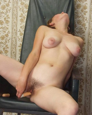 Hairy ladies. Busty babe totally naked a - Picture 18