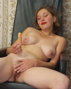 Hairy ladies. Busty babe totally naked a - Picture 20