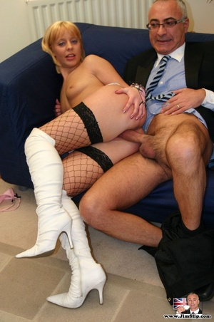 Nylon stockings. Dirty street slut enjoy - XXX Dessert - Picture 12