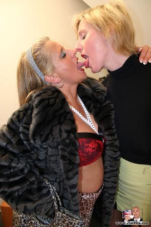 Sexy lingerie. Two filthy London lesbian - XXX Dessert - Picture 2