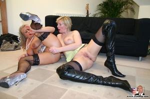 Sexy lingerie. Two filthy London lesbian - XXX Dessert - Picture 11