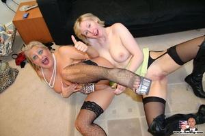 Sexy lingerie. Two filthy London lesbian - XXX Dessert - Picture 12