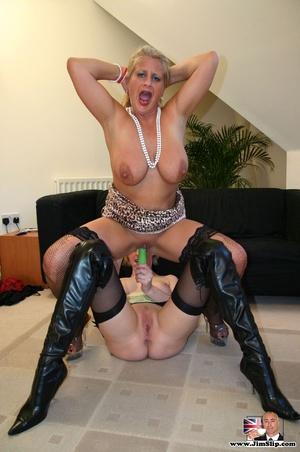 Sexy lingerie. Two filthy London lesbian - XXX Dessert - Picture 13