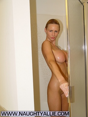 Cheating wife. Wife With 34D Tits Shower - XXX Dessert - Picture 11