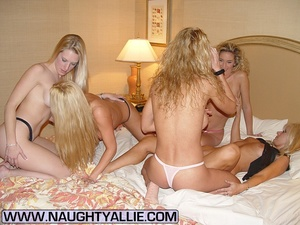 Housewive porn. Orgy With Seven Pussy Ea - XXX Dessert - Picture 1