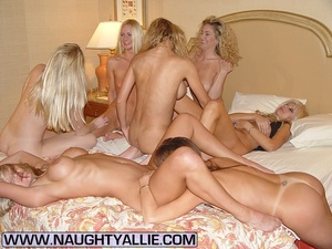 Housewive porn. Orgy With Seven Pussy Ea - XXX Dessert - Picture 7