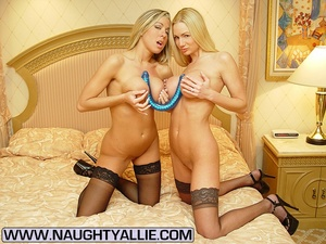 Lesbian porno. Two Busty Blondes Fucking - XXX Dessert - Picture 6