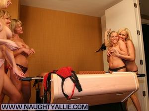 Lesbian galleries. All Girl Strip Foosba - XXX Dessert - Picture 6