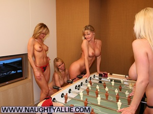 Lesbian galleries. All Girl Strip Foosba - XXX Dessert - Picture 7