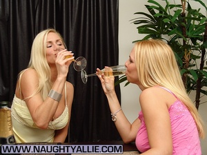 Milf porn. Hot Drunk Wives Get Frisky An - XXX Dessert - Picture 1