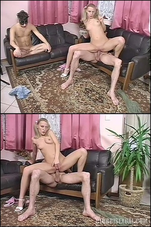 Bi sexual. Blonde Bitch Gets Guys to Fuc - XXX Dessert - Picture 6