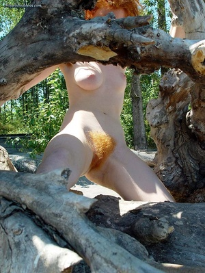 Teen xxx. Naked Redhead Hippie girls sho - Picture 14