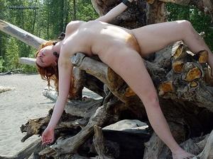 Teen xxx. Naked Redhead Hippie girls sho - Picture 41