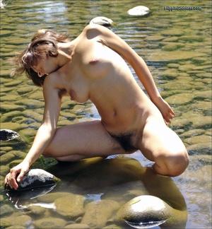 Voyeur sex. Natural Hippie stripping dow - XXX Dessert - Picture 26