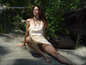 Voyeursex. Mature,Hairy Hippie goddess s - XXX Dessert - Picture 1