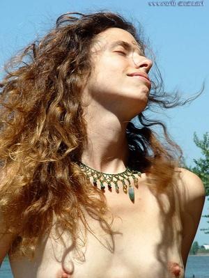 Voyeursex. Mature,Hairy Hippie goddess s - XXX Dessert - Picture 16