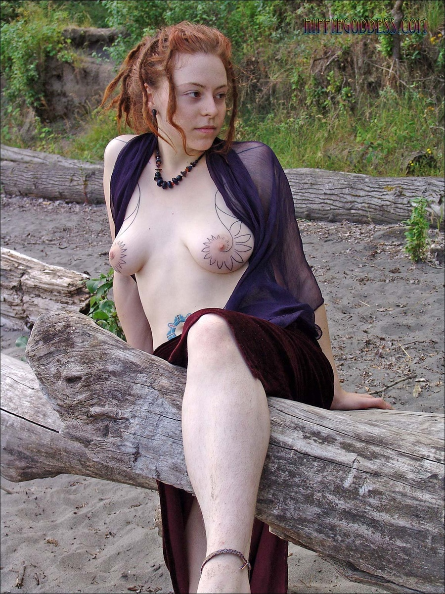 Talented Chick with dreadlocks and huge boobs pics think