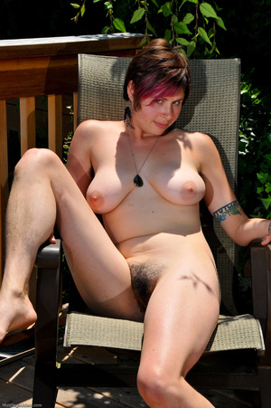 Erotic fantasy. Full figured hippie girl - XXX Dessert - Picture 9