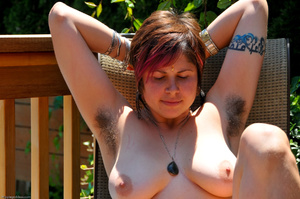 Erotic fantasy. Full figured hippie girl - XXX Dessert - Picture 11