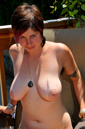 Erotic fantasy. Full figured hippie girl - XXX Dessert - Picture 14