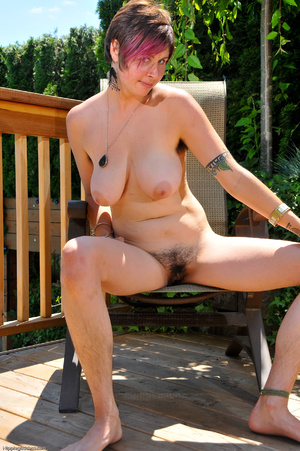 Erotic fantasy. Full figured hippie girl - XXX Dessert - Picture 16
