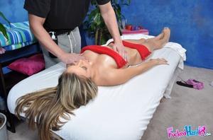 Porn massage. Sexy Brunette gets fucked  - XXX Dessert - Picture 6