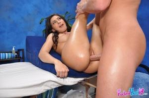Teen porn. Hot 18 year old brunette gets - XXX Dessert - Picture 15