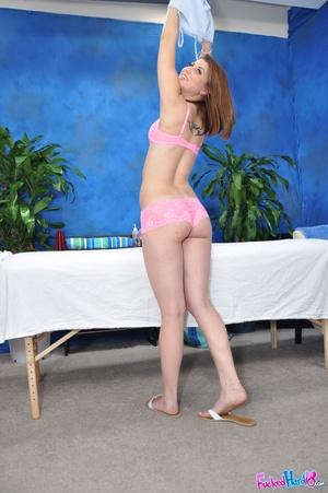 Sex massage. Hot 18 year old slut gets f - XXX Dessert - Picture 4