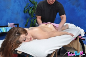 Sex massage. Hot 18 year old slut gets f - XXX Dessert - Picture 6