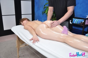 Sex massage. Hot 18 year old slut gets f - XXX Dessert - Picture 7
