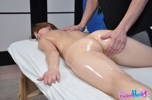 Sex massage. Hot 18 year old slut gets f - XXX Dessert - Picture 8