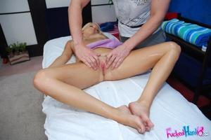 Teen porn. Hot 18 year old blonde receiv - XXX Dessert - Picture 10