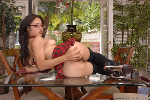 Young teen girl. Alluring hot coed with  - XXX Dessert - Picture 8