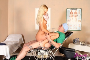 Old & young. Wealthy old doctor fuck - XXX Dessert - Picture 9