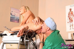 Old & young. Wealthy old doctor fuck - XXX Dessert - Picture 12