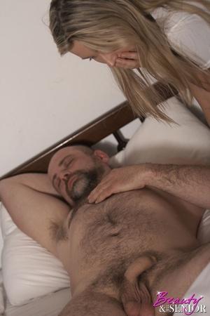 Older man young women sex. Horny senior  - XXX Dessert - Picture 5
