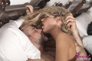 Older man young women sex. Horny senior  - XXX Dessert - Picture 15