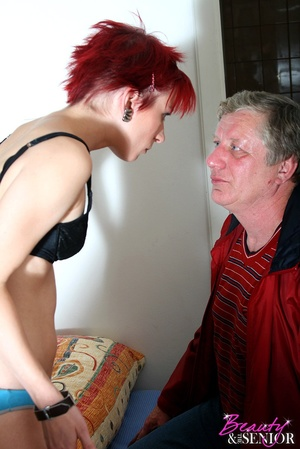 Old young. Grey old man loves pounding a - XXX Dessert - Picture 5