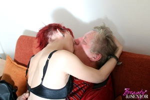 Old young. Grey old man loves pounding a - XXX Dessert - Picture 6