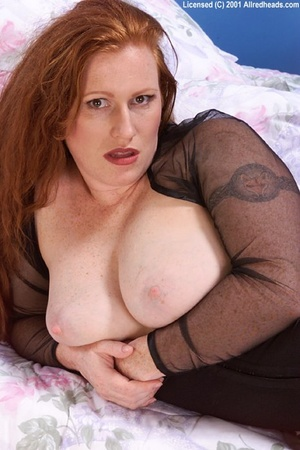 Red head galleries. Big Breasted Natural - XXX Dessert - Picture 11