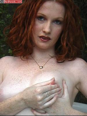 Redhead porno. Hot redhead bathing and w - XXX Dessert - Picture 3
