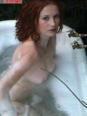 Redhead porno. Hot redhead bathing and w - XXX Dessert - Picture 4