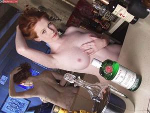 Redhead porno. Hot redhead bathing and w - XXX Dessert - Picture 8