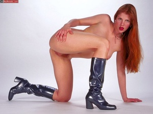 Nude redhead. Horny redhead with flaming - XXX Dessert - Picture 2