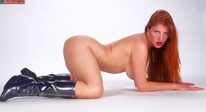 Nude redhead. Horny redhead with flaming - XXX Dessert - Picture 4